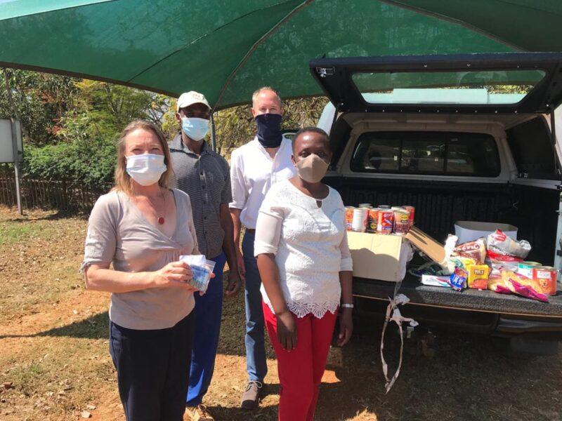 Mandela Day Mukhova village donation