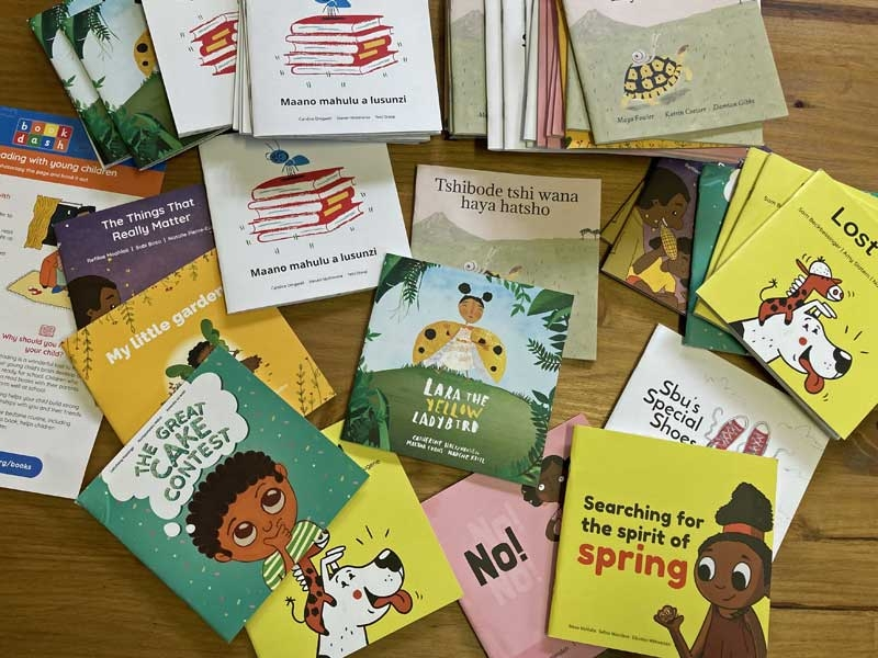 One hundred colourful stories for rural kids