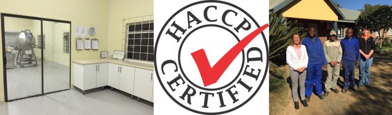 EcoProducts is HACCP certified