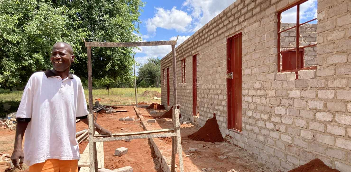Dambale Pre-School rising from the dust